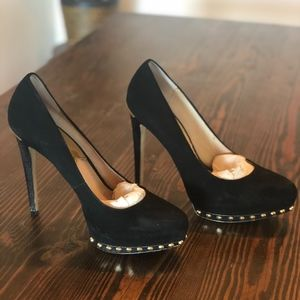 Michael Kors Ailee Studded Suede Pump - Size 10